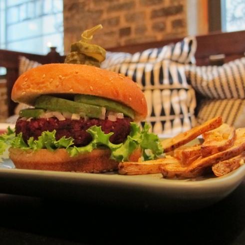 Vegan, Isa Chandra Moskowitz, Breville, Beet Burger, Recipe, Goodness, Healthy