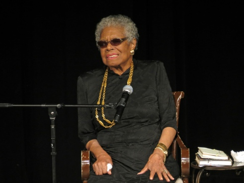 Dr. Maya Angelou, York College, YCP