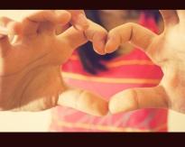 Love, Heart, Hand Sign, Sending Love
