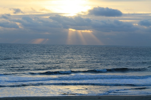 Ocean City, Maryland, Water, Peace, Ocean, Sunshine, God, Light, Peace