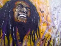 Bob Marley, The Wailers, Graffiti Art, Art, Hoxton Street, London
