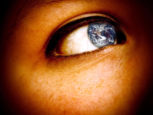 Eye, Earth, Globe, World, Seeing The World, Global Viewpoint, Eye Opening
